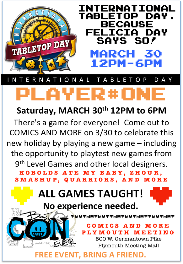 Tabletopday_comicsandmore